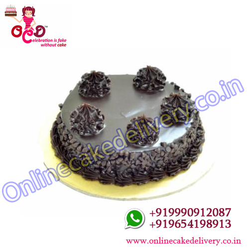 Eggless Choco Chip Cakes