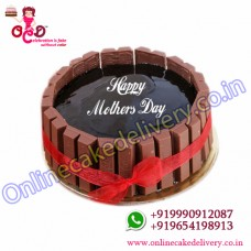 Half Kg KitKat Gems Cake to India