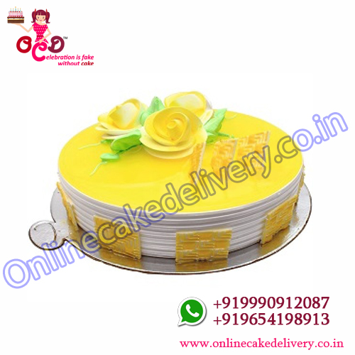 Pineapple Cake Home Delivery‎