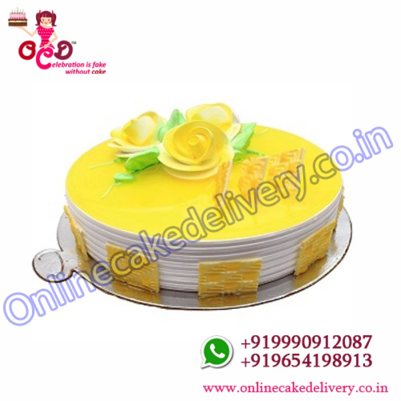 Pineapple Cake Home Delivery