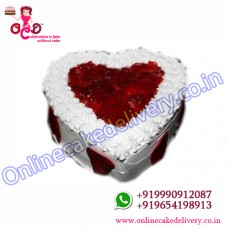 Send Half Kg Red Velvet Cake To India