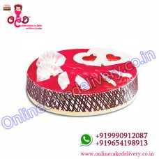Strawberry Cake Home Delivery‎