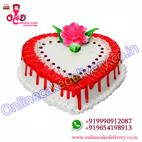 Online Strawberry Cake Shop