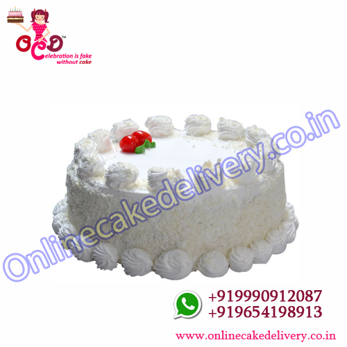 White Forest Cake delivery
