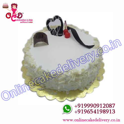 White Forest Cake in Chennai