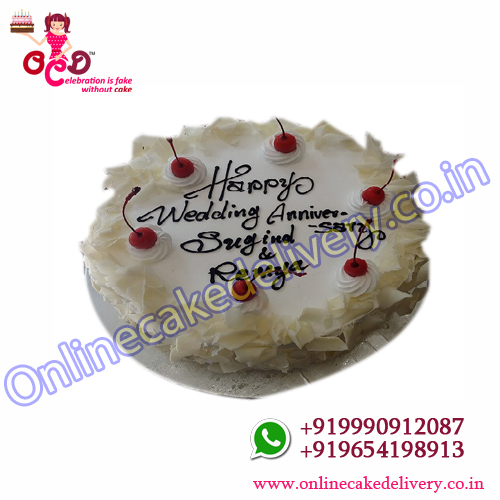 White Forest Cake Home Delivery‎
