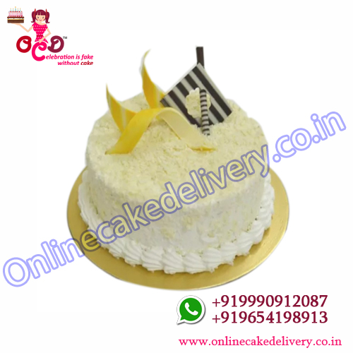 Send Half Kg White Forest Cake  Cake to India