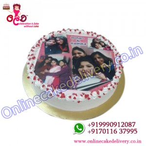 Photo Cake for mothers day