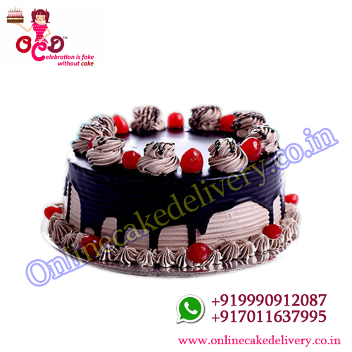 Gourmet Coffee Chocolate valentine's day cake order online