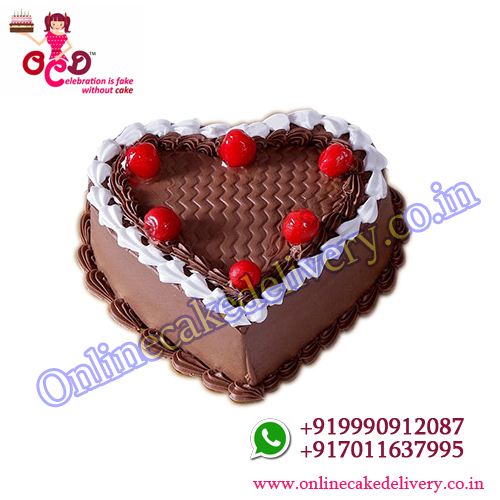 Cherry On Top valentine chocolate Cake 1kg