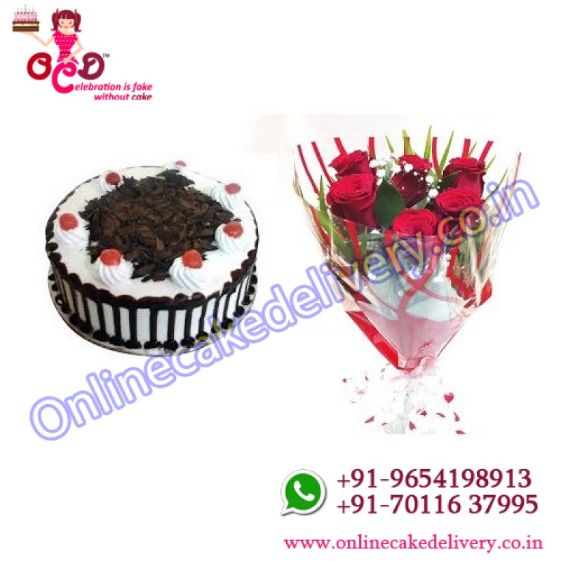 Online Flower And Cake Delivery In Delhi