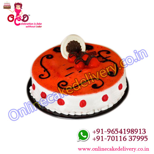Strawberry Seduction cake