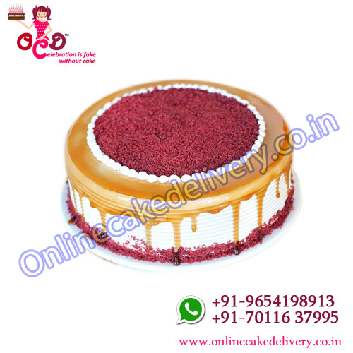 Red Velvet Choco Coffee Cake