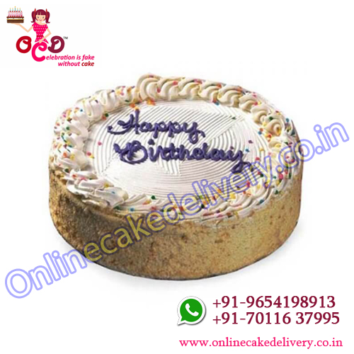 Pineapple Cake OR Best Selling Birthday Cake