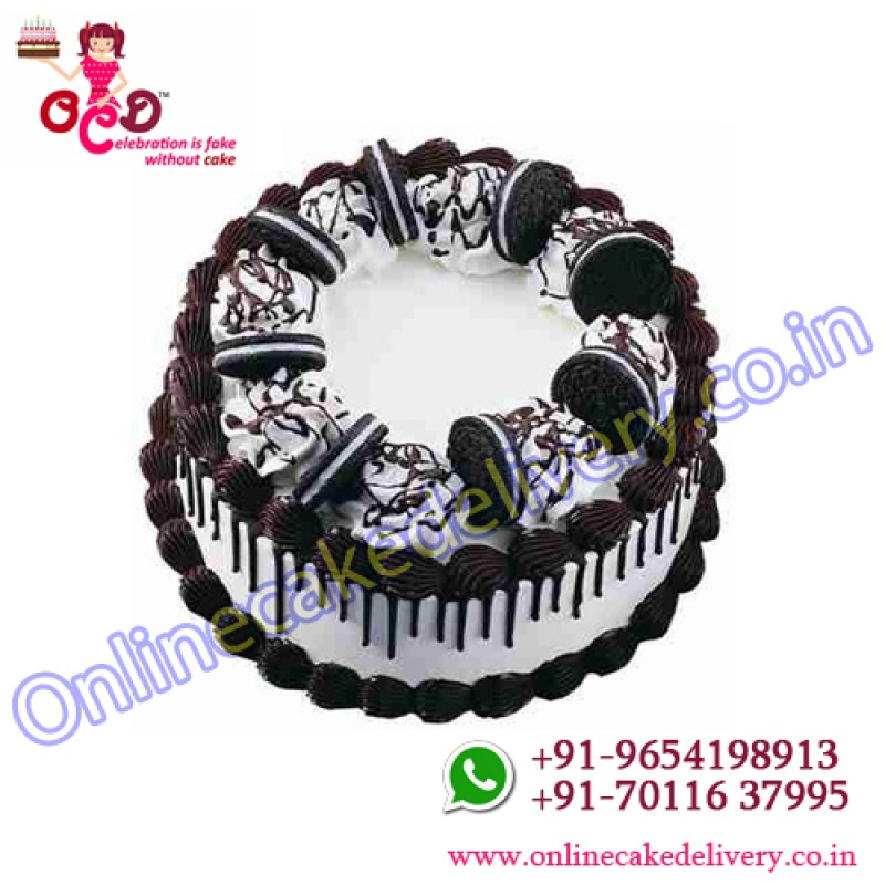 Black Forest Oreo Cake Or Special Birthday Cakes Delivery In Delhi