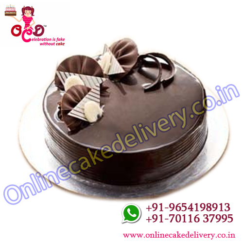 Chocolate Truffle cake IN Round cakes to order