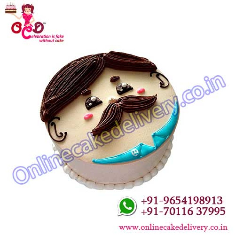 Father Birthday Cakeorder A Cake Onlineonline Midnight Delivery