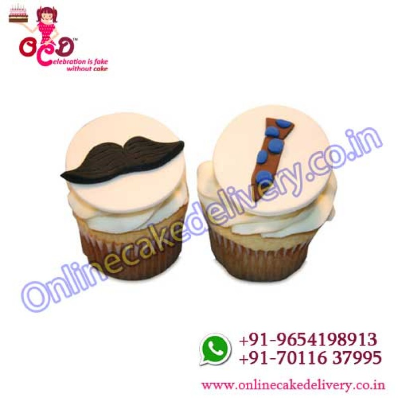 Cupcakes Fathers Daydelivery Cake Near Mebest Online Birthday Cakes