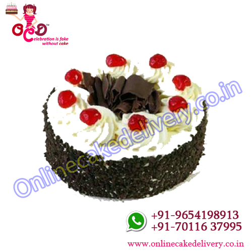 Black forest Cake Recipe Eggless