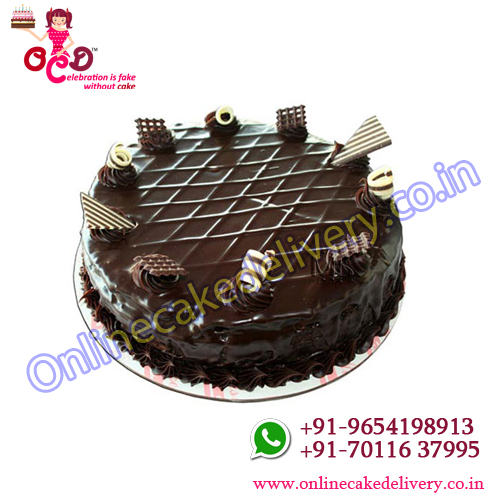 Chocolate Cake Eggless