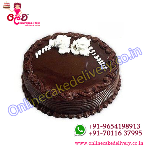 Eggless Cake Chocolate