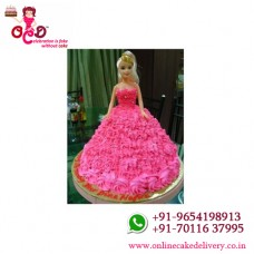 barbie doll cake children's cakes