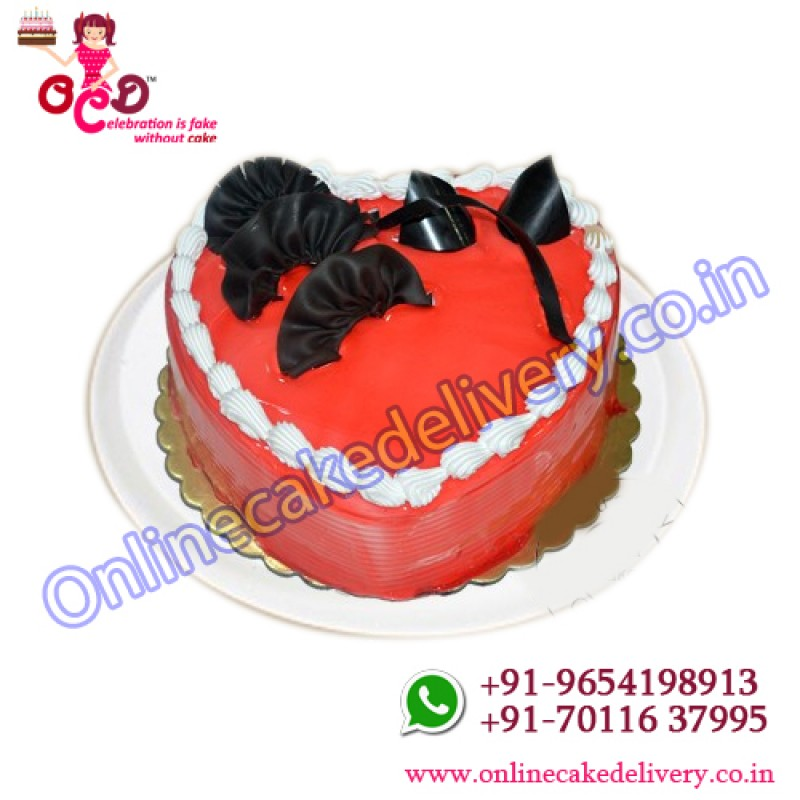Mothers Day Heart Cakecustom Cakes Online Order Online Booking Cake