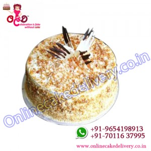 Butterscotch cake as your Birthday online gift