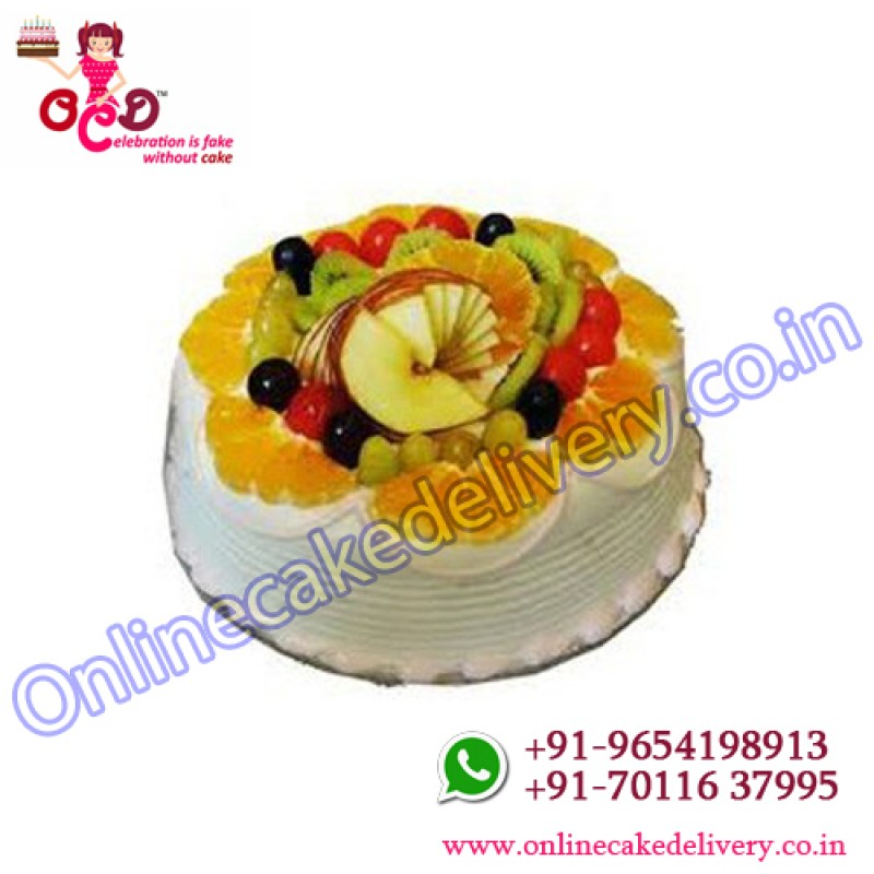 Fresh Fruit Cakesend Cakes To India Fresh Fruit Birthday Cake