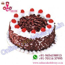 Black forest cake is in online cake delivery in india