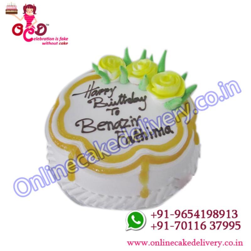 Butter Scotch Cake For Order Birthday Online Gurgaon In Delhi