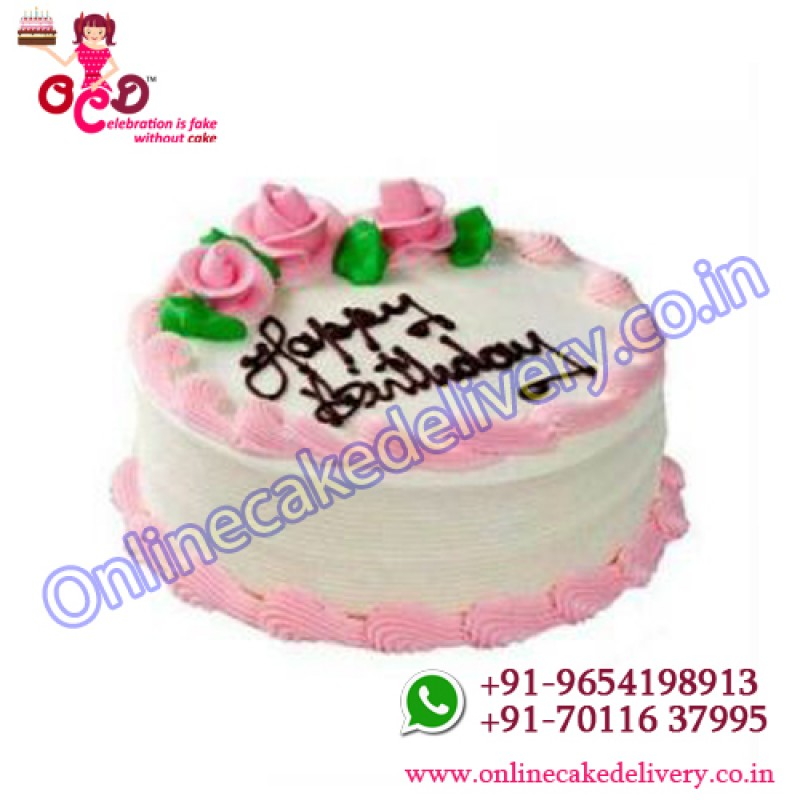 Cake Of Strawberrysend Birthday Cake Onlineonline Birthday Cake Order