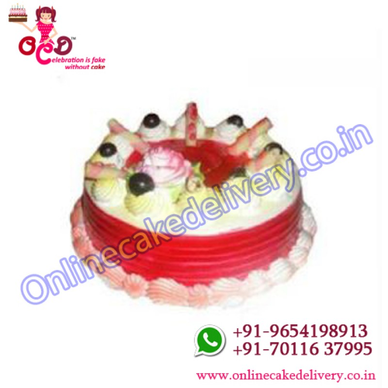 Strawberry Flavour Cakeorder Childrens Birthday Cakes Onlinecake Shop
