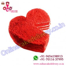 red velvet heart cake and Valentine cake house red velvet