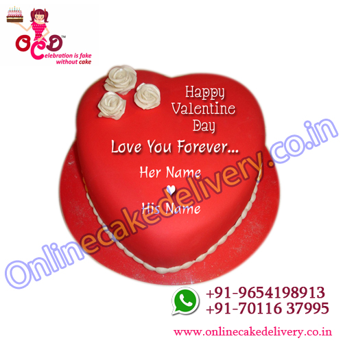 valentine day special cake for valentine gifts online